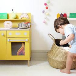 Chambre d'enfant jouet en bois
